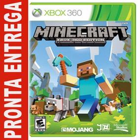 Minecraft Xbox 360 Edition Mídia Física
