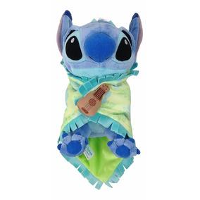 Disney Parks Peluche Baby Stitch 23cm & Manta Felpa Nuevo