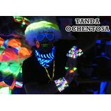 Tanda Disco Ochenta 80 - Cotillón Hippie Ochentoso -50 Invit
