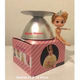 Molde Torta Pollera Vestido Muñeca Princesa Barbie 15cm Faca