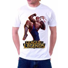 Camisa, Camiseta League Of Legends, Lee Sin