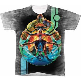 Camisa Camiseta Blusa Filme Super Heroi Thor Ragnarok 07