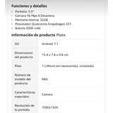 Nokia 6, 32gb, 3000mah, Android 8, Estética De 10.