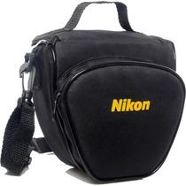 Bolsa Case Câmera Nikon Dslr D3200 D3300 D5300 D5500 P600