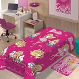 Cobertor Manta Barbie Soft Licenciado Jolitex
