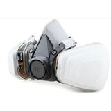 Respirador Mascara 3m 6200