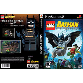 Jogo Patch Lego Batman Ps2 Jogos Playstation 2 Barato