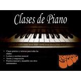 Piano Y Teclado - Clases.