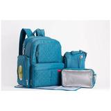 Pañalera-mochila Moderna Soho Manhattan 5 En 1 Azul Skip Hop