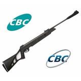 Carabina Chumbinho De Pressão Cbc Nitro Six 6.0 F22 + Rifle