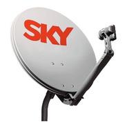 Kit Antena Sky 60cm Banda Ku + Lnb Universal
