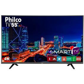 Smart Tv Led Philco 55 Polegadas 4k Ptv55u21dswnt