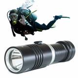 Lanterna Tática Mergulho A Prova Da Água Led T6 888000w