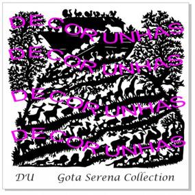 Placas Decor Unhas Kit Gota Serena *em Promoção!!