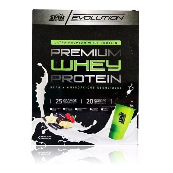 Whey Protein Pack 20 Sobres X 30 Grs Star Nutrition