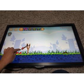 Kit Tela Multi Touch Tv 32 Com Mini Pc Android Quad 1.8ghz