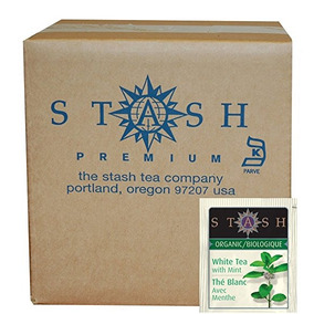 Stash Tea Té Orgánico Bolsas De Papel De Aluminio, Té Blanco