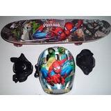 2 Skate Infantil+ Bolsa Para Transporte + Capacete!