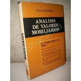 Analisis De Valores Mobiliarios 1967 Felix Rosenfed