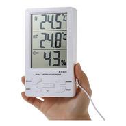 Higrómetro Digital Temperatura Y Humedad Son Sonda. Grow !!