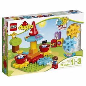 Brinquedo Lego Duplo Meu Primeiro Carrossel 10845 24pçs