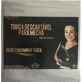 Touca Descartável - Fernanda Ribeiro. 5 Pacotes - 12 Toucas.