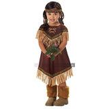 Traje De Lil India De La Princesa De La Muchacha, Mediana,