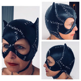 Máscara Mulher Gato Em Latex