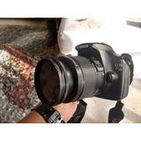 Camara Canon T3 Reflex Incluye Funda O Cambio Por Canon G