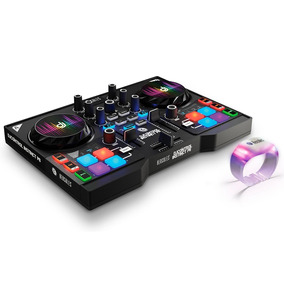 Controladora Dj Control Instinct P8 Party Pack - Hercules