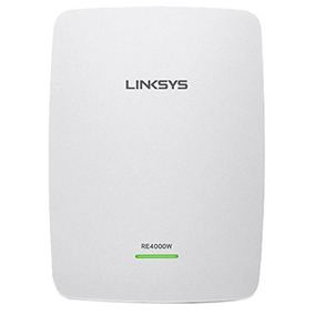 Expansor De Red Wifi Linksys 300mbps Re400w N600 Dual Band