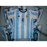 Camiseta Niño Argentina Messi + Short Eliminatorias 2017/18