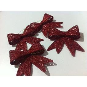 Kit De 5 Laços - Enfeite Para Árvore De Natal