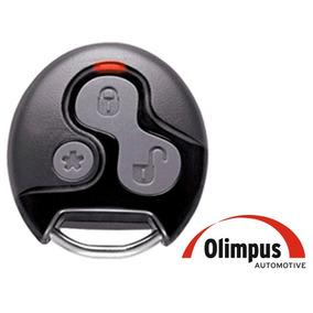 Capa Controle Alarme Olimpus 3 Botões Completa