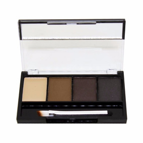Trio Sombras Kit Sobrancelhas + Pincel + Primer Ruby Rose
