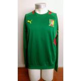 Polerón Entrenamiento Selección Camerún 2011-2013 Puma Nuevo