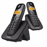 Telefone Sem Fio Com Duas Bases Intelbras Ts 3112