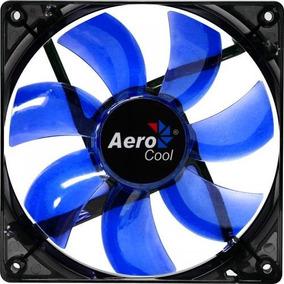 Cooler Fan Lightning 120mm Blue Led Aerocool Oficial Envío