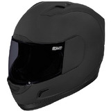 Casco Icon Alliance Oscuro Negro Md