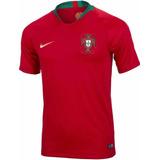 Camiseta Portugal Nike Match Vaporknite Mundial 2018 Titular