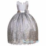 Vestido Elegante Hermoso Ceremonia Niña 024