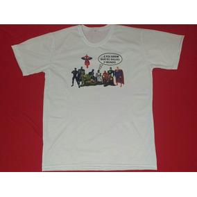 Kit 03 Camisetas P Ao Gg..e Foi Assim Que Eu Salvei O Mundo