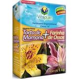 Fertilizante 2 Em 1 Torta De Mamona + Farinha De Osso 1k