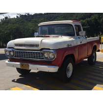 Ford Camioneta 1959 Pick Up Custom Cab 95% Original.