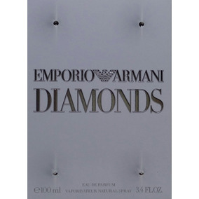 Perfume Emporio Armani Diamonds Edp 100 Ml Original