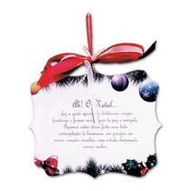 Placa Móbile O Natal Ultrapassa Qualquer Barreira Em Mdf