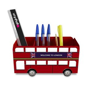 Porta Lápis Ônibus Londres