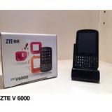 Celular Zte V6000 Qwerty Mp3 Android Wifi Libres Gtia Nuevos