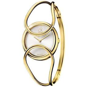 Reloj Calvin Klein Wck847 Dorado
