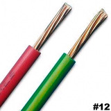 Cable Nº 12 Thw Awg 100% Cobre